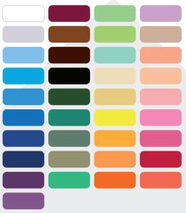 kolory przescieradla